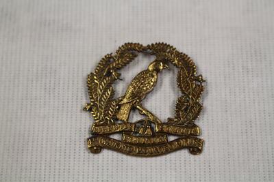 4th Waikato Mounted Rifles Pin