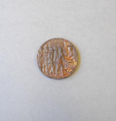 British Lusitania Medallion