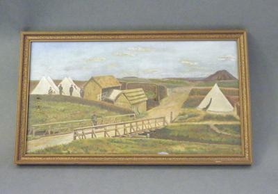 Redoubt of 57th Regiment, 1864, & Bridge over Mangaohoi Stream