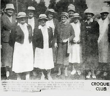 Te Awamutu Croquet Club