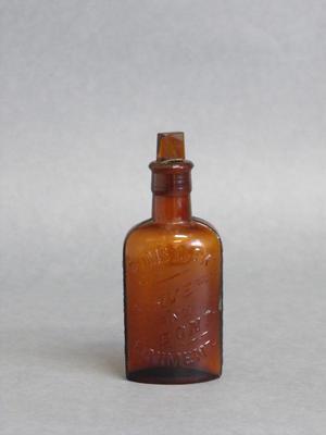 Liniment bottle