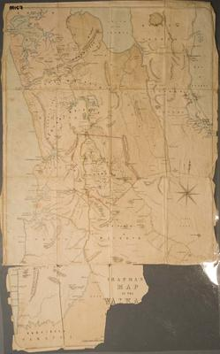 Chapman Map of the Waikato