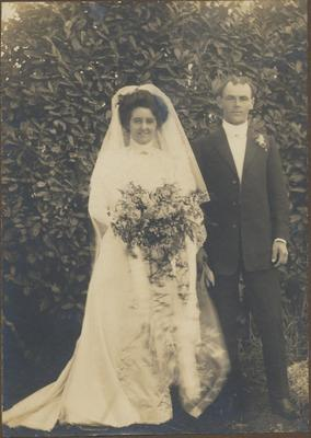 Edie and Frank Armstrong's Wedding