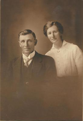 George and Lena Teasdale