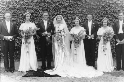 Russell and Avis Hutchinson's Wedding