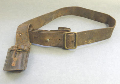 Bayonet belt