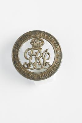 Silver War Badge 1914-1918