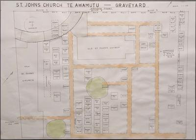 St John's Church Map