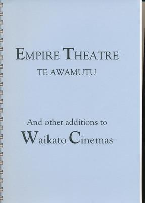 Empire Theatre Te Awamutu