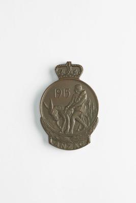 Anzac Commemorative medallion
