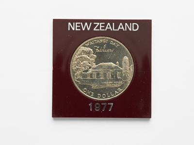Commemorative coin - Waitangi Day 1977