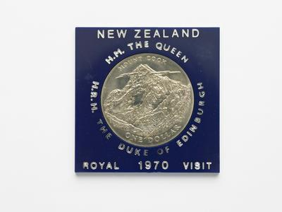 Commemorative coin - Royal visit 1970
