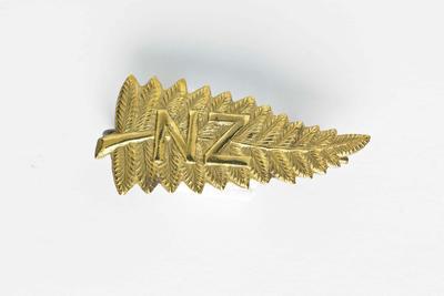 NZ Silver Fern Brooch