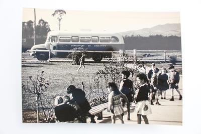 Photographic proof from Kihikihi Primary School Centennial magazine 1873-1973.