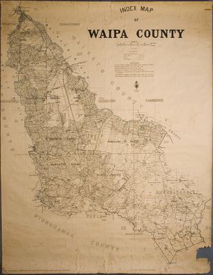 Index Map of Waipa County
