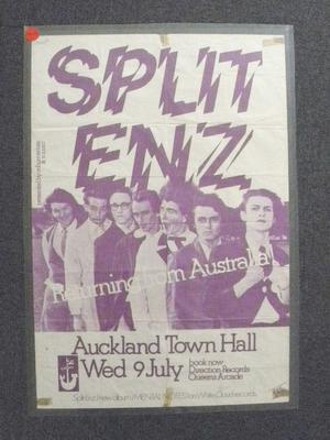 Poster - Split Enz
