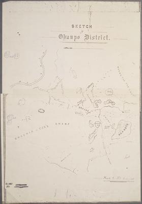 Sketch of Ohaupo District