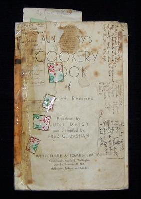 Aunt Daisy's Cookery Book of Selected Recipes