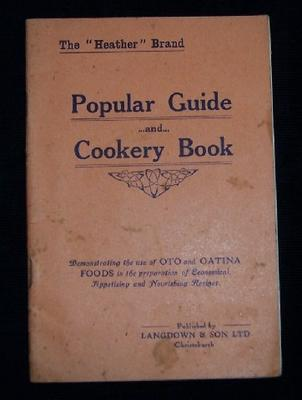 The Heather Brand Popular Guide and Cookery Book