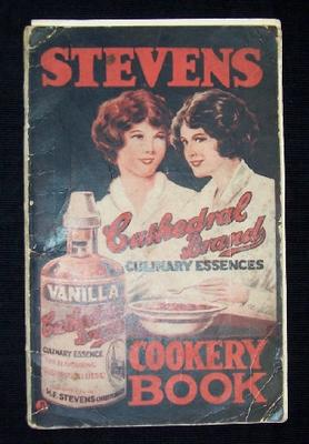Stevens Cathedral Brand Culinary Essences Cookery Book