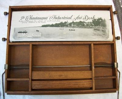 The Chautauqua Industrial Art Desk