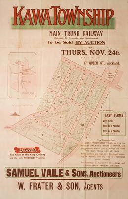 Kawa Township Auction Notice