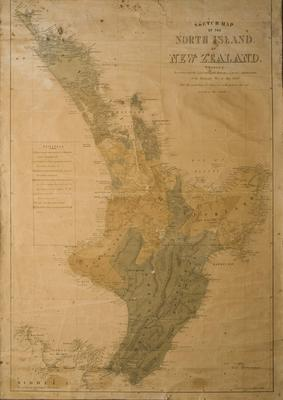 North Island Sketch Map