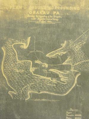 Plan of Ground Surrounding Orakau Pa