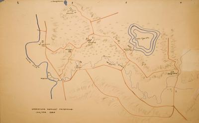 Operations Against Paterangi Jan/Feb 1864