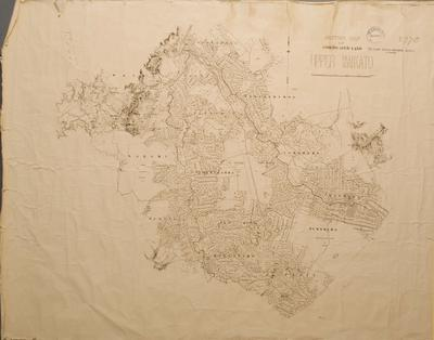 Section Map of Confiscated Land Upper Waikato
