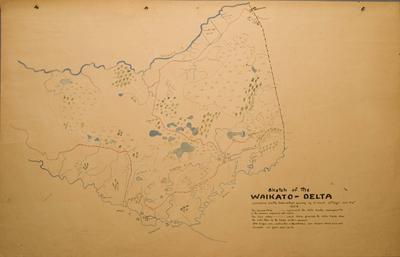 Sketch of the Waikato Delta