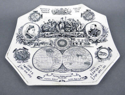 Commemorative plate - Queen Victoria's Jubilee