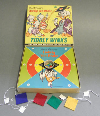 Board game - Tiddly Winks