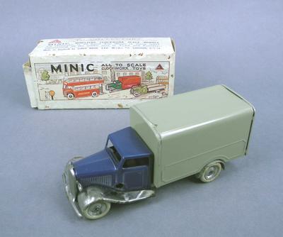 Toy van and box