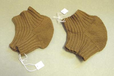 Pair of knee warmers