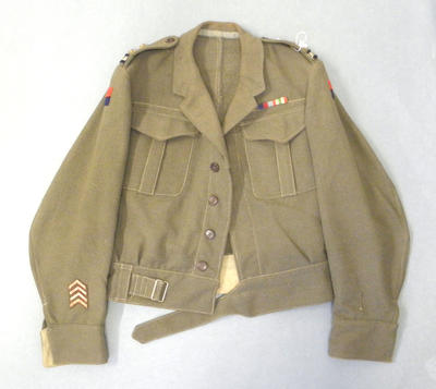 Battle dress blouse - New Zealand Army