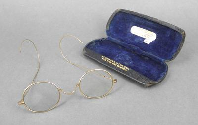 Pair of glasses and case