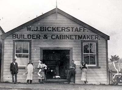 W.J. Bickerstaff Building and Staff