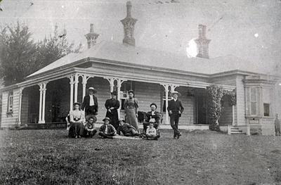 Greenhill House and Family