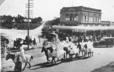 Alexandra Street Parade, early 1900s