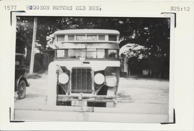 Hodgson Motors Old Bus