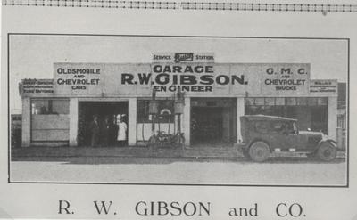 R.W. Gibson and Co. Garage