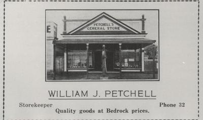 William J. Petchell General Store