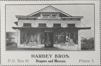 Hardey Bros. Raglan