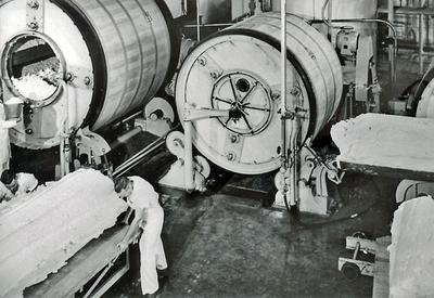Interior of Dairy Factory