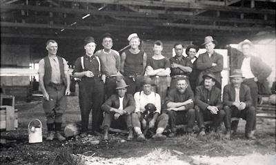 Group of P.W.D. Workers