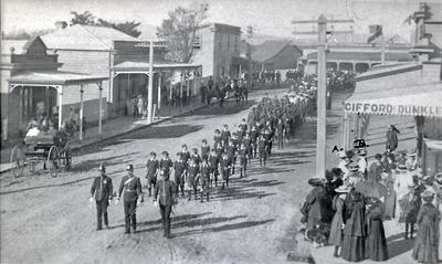 Parade in Alexandra Street