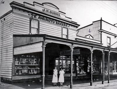 Burns Bakery and Confectioners Shop