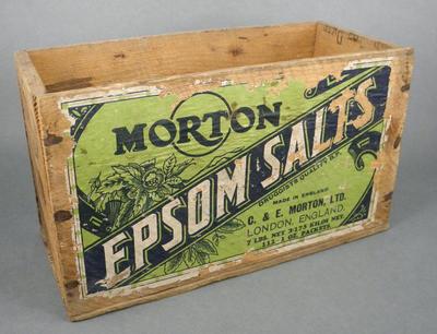 Epsom salts box
