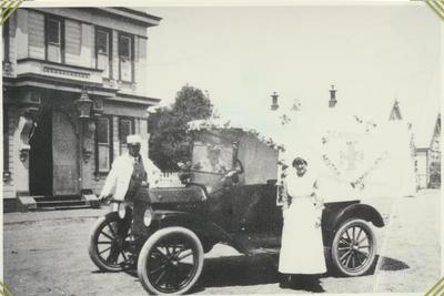 Old Motor Ambulance